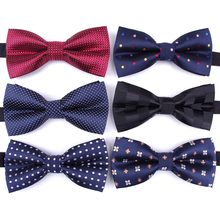 Bowtie men formal necktie boy Men's Fashion business wedding bow tie Male Dress Shirt krawatte legame gift(China)