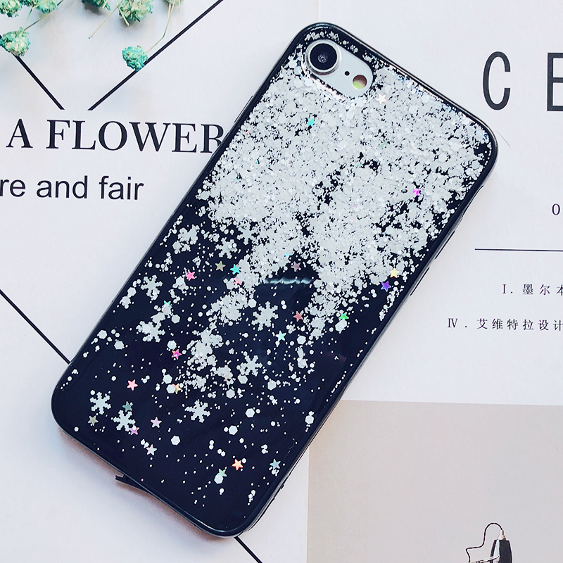 Luxury Gold Foil Bling Marble Phone Cases For iPhone X 10 Cover Hole Soft TPU Cover For iPhone 7 8 6 6s Plus Glitter Case Coque (21)