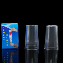 Comedy Glass in Paper Cone magic tricks comedy stage gimmick funny 400magic