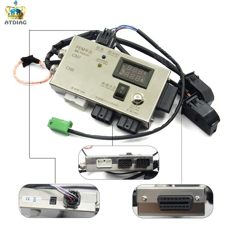For BM W FEM BDC Auto Key Programmer for BM W F20 F30 F35 X5 X6