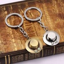 Portgas D. Ace Hat Keychain Vintage Pendants