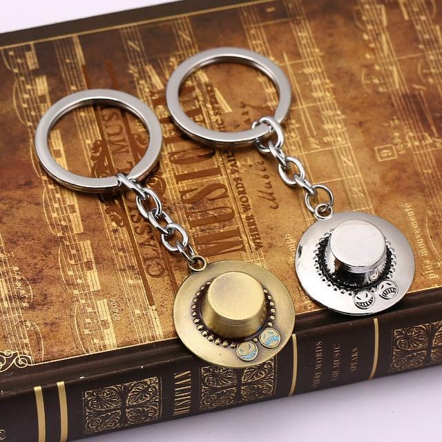 One Piece 3D Vintage Pendants Key Chain