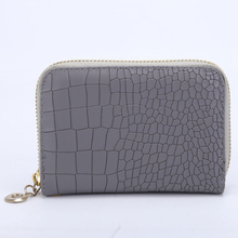Women Wallets PU Leather Female Plaid Short Purses CardS ID Holder Zipper Wallet Fashion Woman Coin Purse Wristlet Lady Moneybag