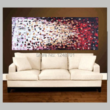 Hand Painted Abstract Art palette knife abstract oil painting living room wall painting art