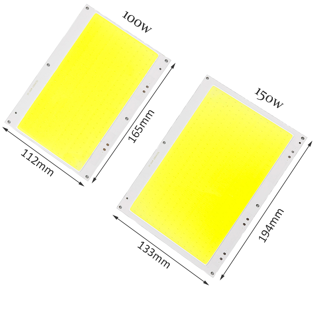 DC 30-33V 100W 150W COB LED Light Lamp Highlighted White light source DIY Chip Lamps Bulb for car light COB LED Chip DA