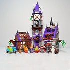 Bela Scooby-Doo Mystery Mansion Building Kit Compatible Legoings 75904 Building Toys Blocks Set(860 Piece)