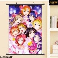 40X60CM Love Live Sunshine School Idol Project Loli Cameltoe Cartoon Anime Art Wall Picture Mural Scroll