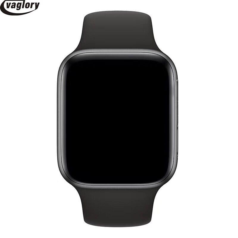 Bluetooth IWO 8 montre intelligente série 4 44mm boîtier 1:1 Smartwatch moniteur de fréquence cardiaque Wisrtwatch pour Huawei Xiaomi Oppo iPhone - 6