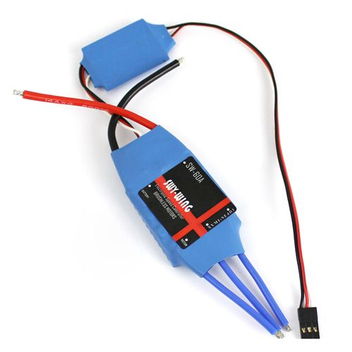 RC airplane helicopter multicopter quadcopter 60A Brushless ESC Electric Speed Controller BEC graupner hott electric air module 2 14s vario telemetry monitoring helicopter multicopter motor speed controller rc esc