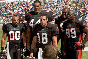 Paul CREWE #18 CHEESEBuRGER EDDy #89 Mean Machine Longest Yard ...