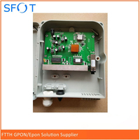 8 ports Poe Reverse EPON ONU pcb board with FTTH termination box
