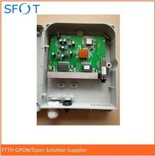 8 ports Poe Reverse EPON ONU pcb board with FTTH termination box x termination