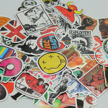 30/50pcs Mixed Random stickers for laptop sticker decal fridge skateboard PVC stickers for Travel Suitcase Wall Pencil Box toy(China (Mainland))