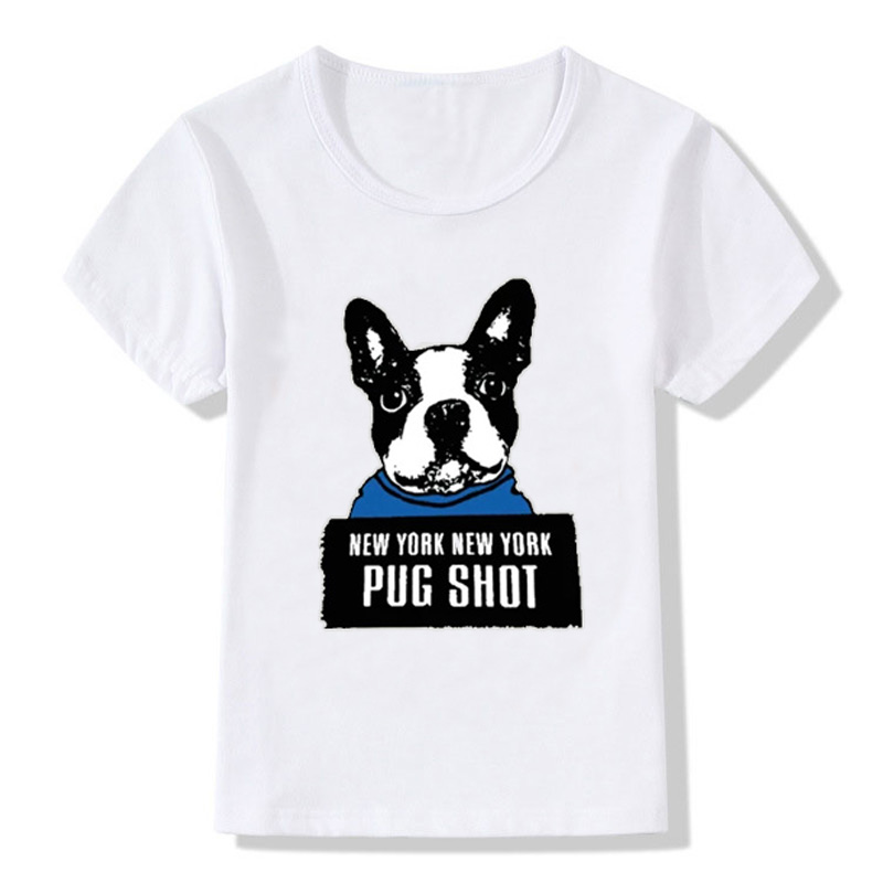 Boston Terriers with Beer Kids Girls Short Sleeve T Shirts Ruffles Shirt T-Shirt for 2-6T