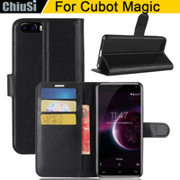 10 Pcs Lot Wallet PU Leather Case Cover For Cubot Magic Flip Protective Phone Back Shell