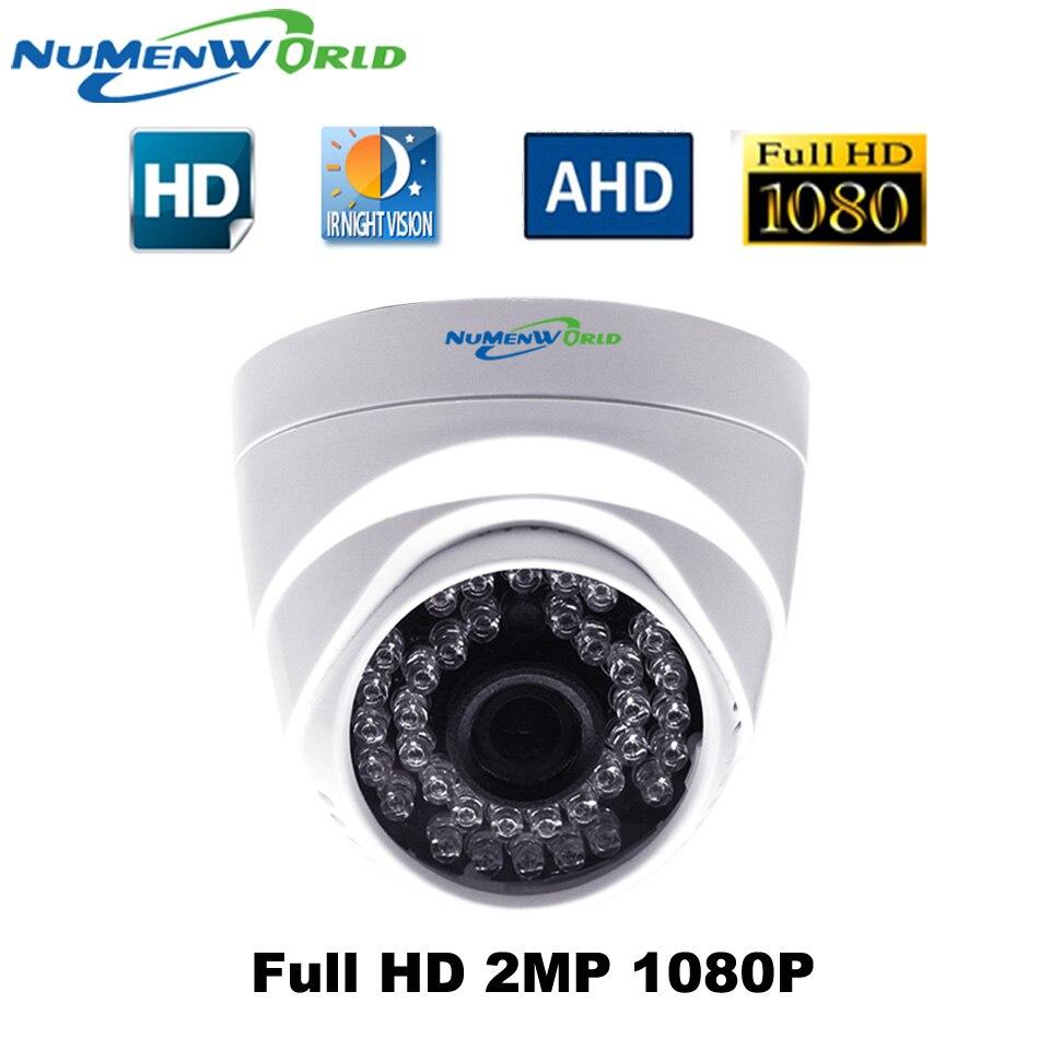 IMX323 2.0MP HD-AHD 1080P câmera dome Grande Angular Len 3000TVL HD Câmera de Segurança CCTV com Dia/noite para interior NuMenWorld