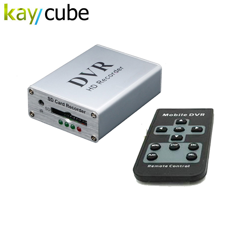 Mini DVR support SD card Real-time Digital Video Recorder for fpv and vehicle HD mini 1 channel MPEG-4 video Montion Detection купить