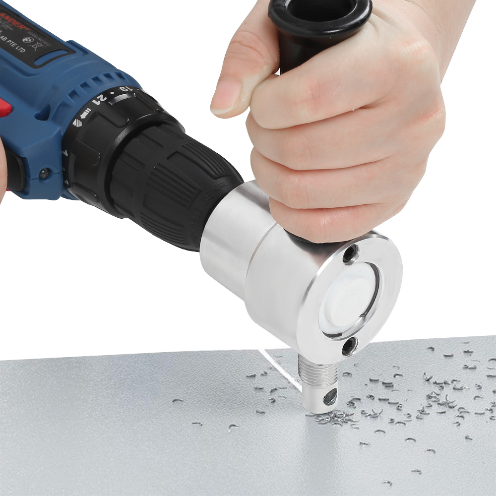 Nibble Metal Cutting Nibbler Saw Cutter attachment for cordless drill bits