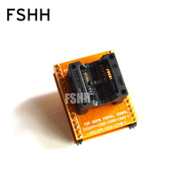 CX1044 CX1032 CX1050 CX1062-1 adapter module can be used after modification SOP8 to DIP8 Pitch=1.27mm width=5.4/7.9mm