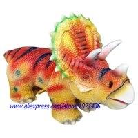Amusement Park Walking Dinosaur Ride In Shopping Malls
