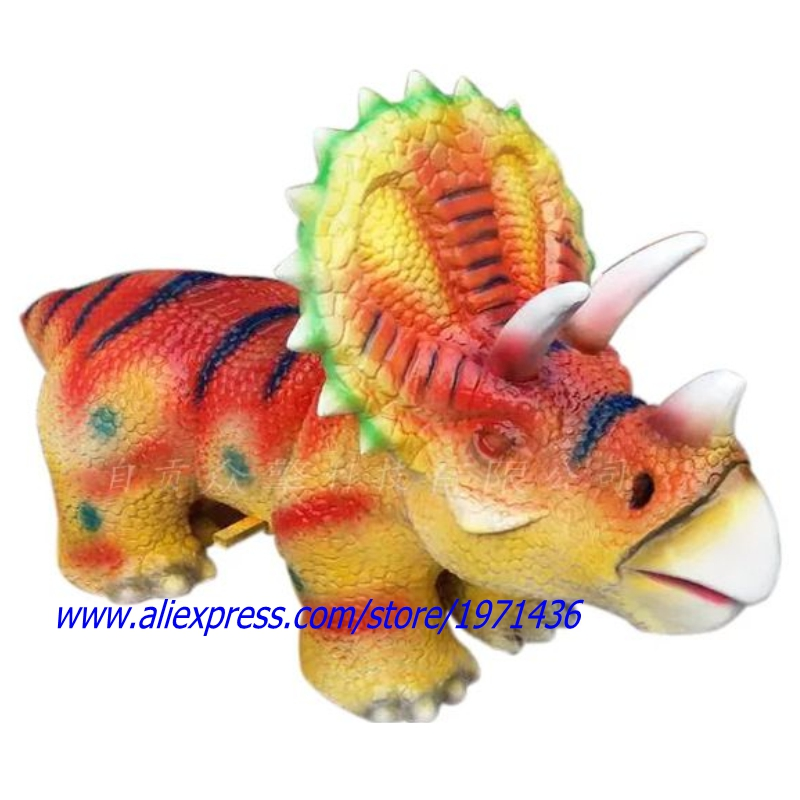 Brazil Amusement Park Walking Animals Dinosaur Ride in Shopping Malls