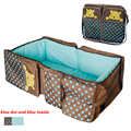 2016 Portable Folding Baby Crib Novelty High Quality Infant Baby Travel Bed Newborn Travel Bags for Mother Crib Bedding