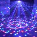 Mini LED RGB Cristal Magic Ball Stage Efeito de Iluminação Lâmpada Lâmpada KTV Xmas Party Disco Club DJ Show de Luz EUA Plug UE