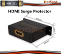 HotSpot HSE201 HDMI Surge Protector/Support HDMI1.4 with 3D,4KX2K,HEAC/Support HDCP/Female port/protect from ESD/Lightning Surge