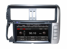 Quad Core Android 5.1 HD 8″ Car dvd GPS for toyota prado 2010 2011 2012 2013 With 3G WIFI Bluetooth TV USB DVR Mirror link