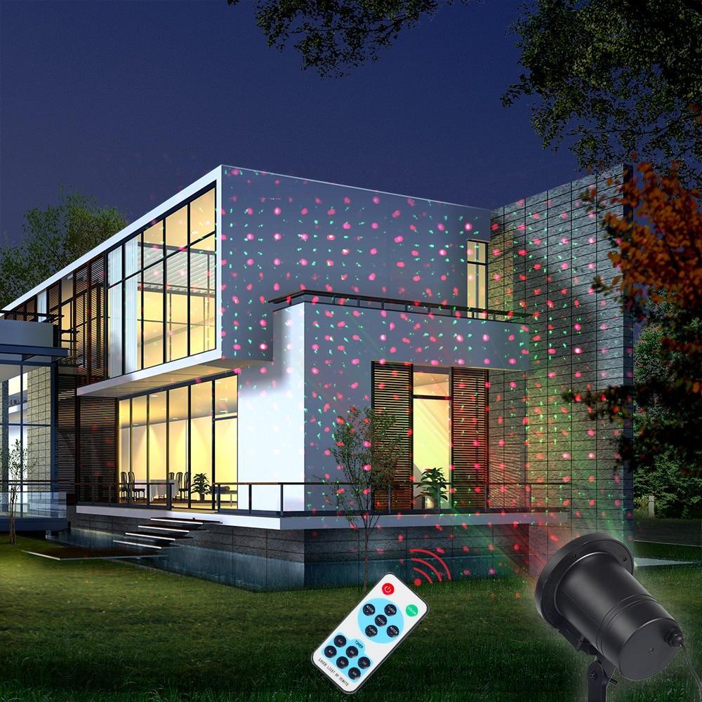 все цены на Remote control Laser Projector Sparkling Star Light IP68 Outdoor Lawn Lamp for Garden Christmas Light Holiday Party KTV Decor онлайн