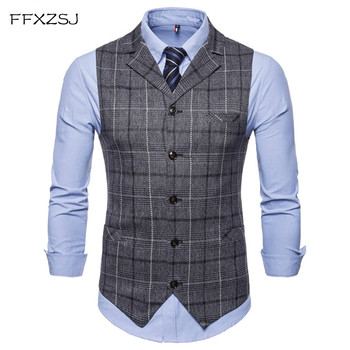 Slim Single-Breasted Waistcoat Blazer