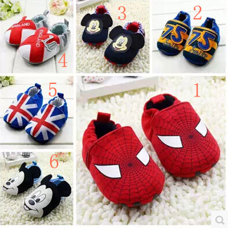 cotton cute baby toddler shoes newborn shoes first walker shoes 0-1T