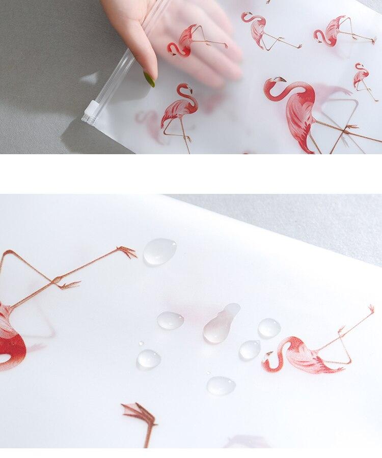 Soomile-Transparent-multi-purpose-waterproof-sealed-travel-bag-Flamingo-EVA-Travel-Organizer-Clothes-and-shoes-sorting-bags-NEW_10