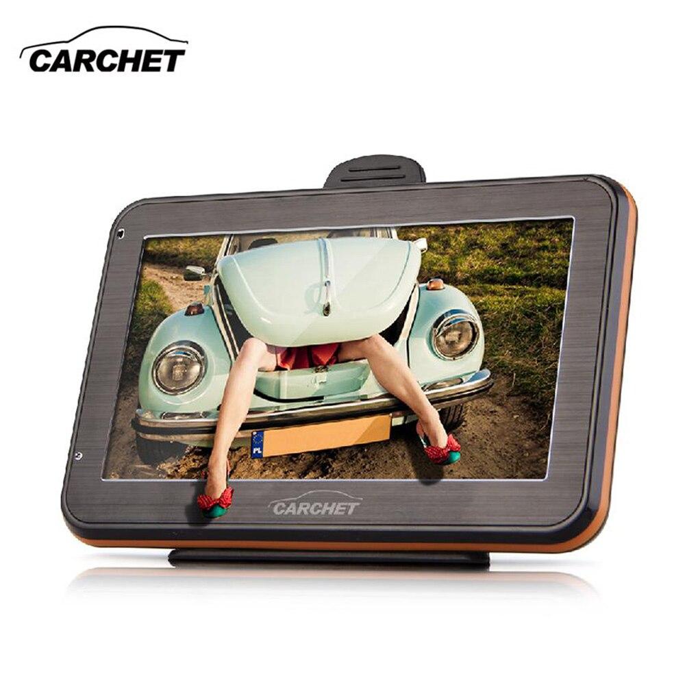 CARCHET 4 3 Inch TFT Touchscreen GPS Navigation FM RAM 128MB 4GB America Map For USA