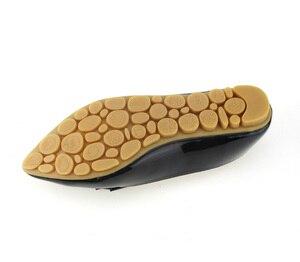 Image 5 - BEYARNE zapatos planos individuales de primavera para mujer, lazo informal, punta estrecha, boca poco profunda, de fábrica, EU 33 43