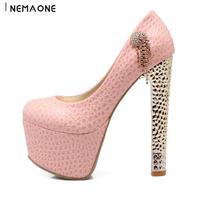Large Size 34 43 Fashion High Quality Sexy High Heels Women Pumps Ladies Platform Dress Shoes
