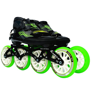 Image 3 - Worth! Carbon Fiber Fiberglass Speed Inline Skates White Kids Adult Competition Street Racing Sport Shoes Training Patines