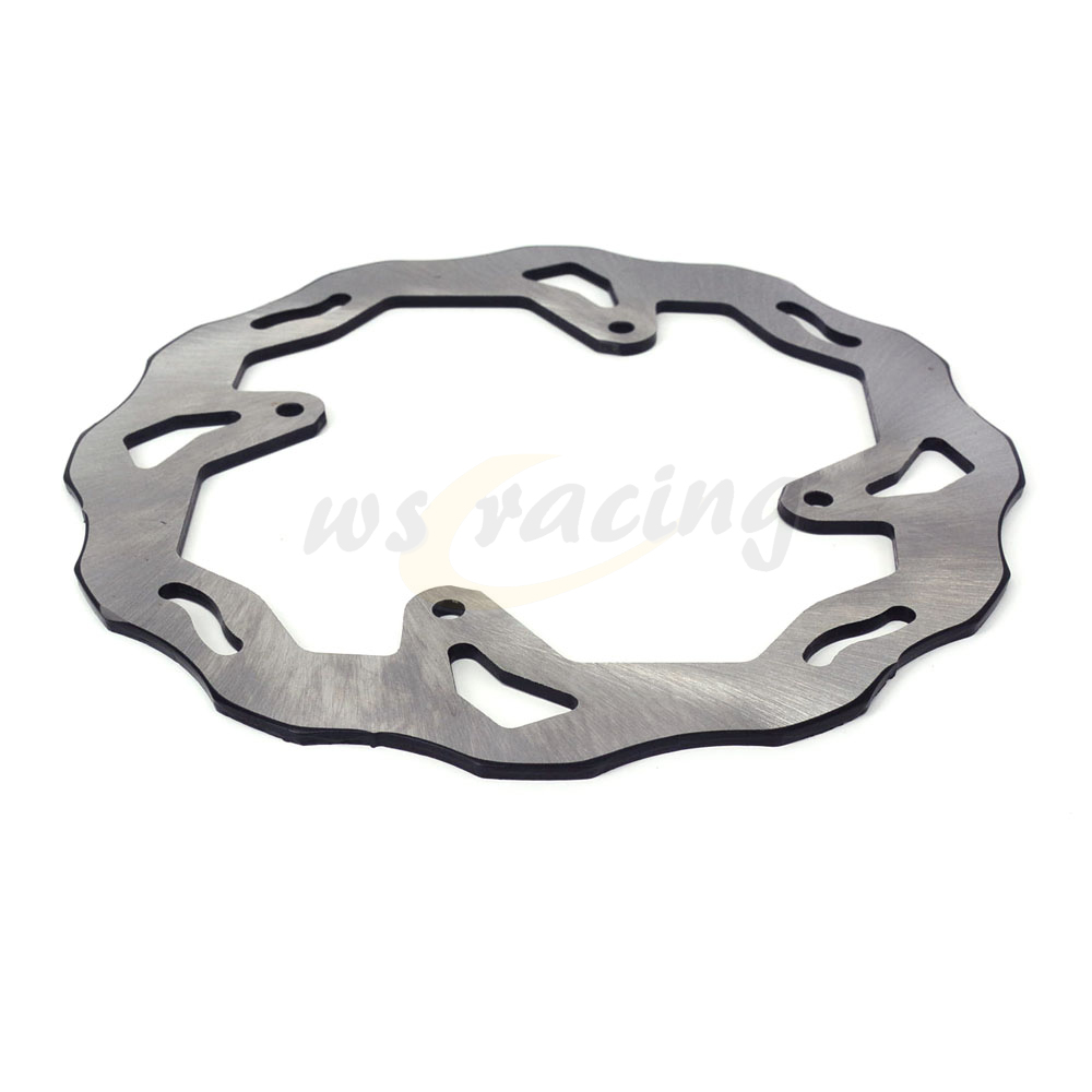 Outer Diameter 240MM Stainless Steel Rear Brake Disc Rotor For HONDA CRF230 04-10 CRE250F 04-09 CRE250X 04-08 04 05 06 07 08 for honda nc700 nc750 ctx700 nm4 vultus motorcycle accessories rear wheel brake disc rotor od 240mm stainless steel