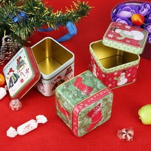 Christmas Decorations Candy Storage Can for Home – Gift Biscuit Casual Food Storage Jar