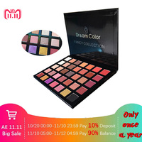 35 Color Face Makeup Eyeshadow Palette Shimmer Matte Glitter Powder Eye shadow Pallete Cosmetics Smoky Eye Shadow