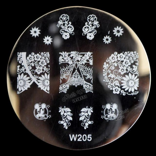 the new transmission nail applique nail art stamping foil sticker