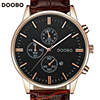 Relogio Masculino DOOBO Quartz Watch Men 2017 Top Brand Luxury Leather Mens Watches Fashion Casual Sport