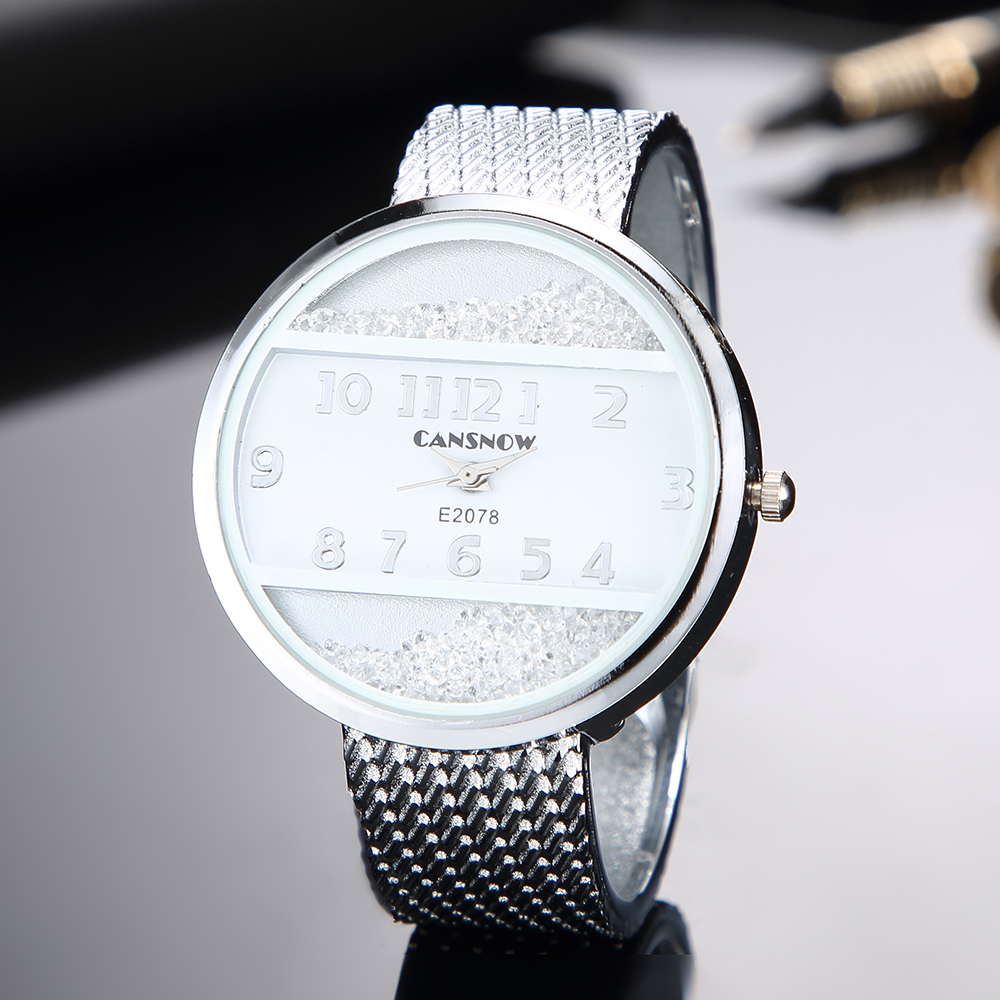 Women Bracelet Watches 2019 New Fashion Silver Gold Dial Lady Dress Saats Bangle Clock Analog Quartz Clock Hot Montre Femme