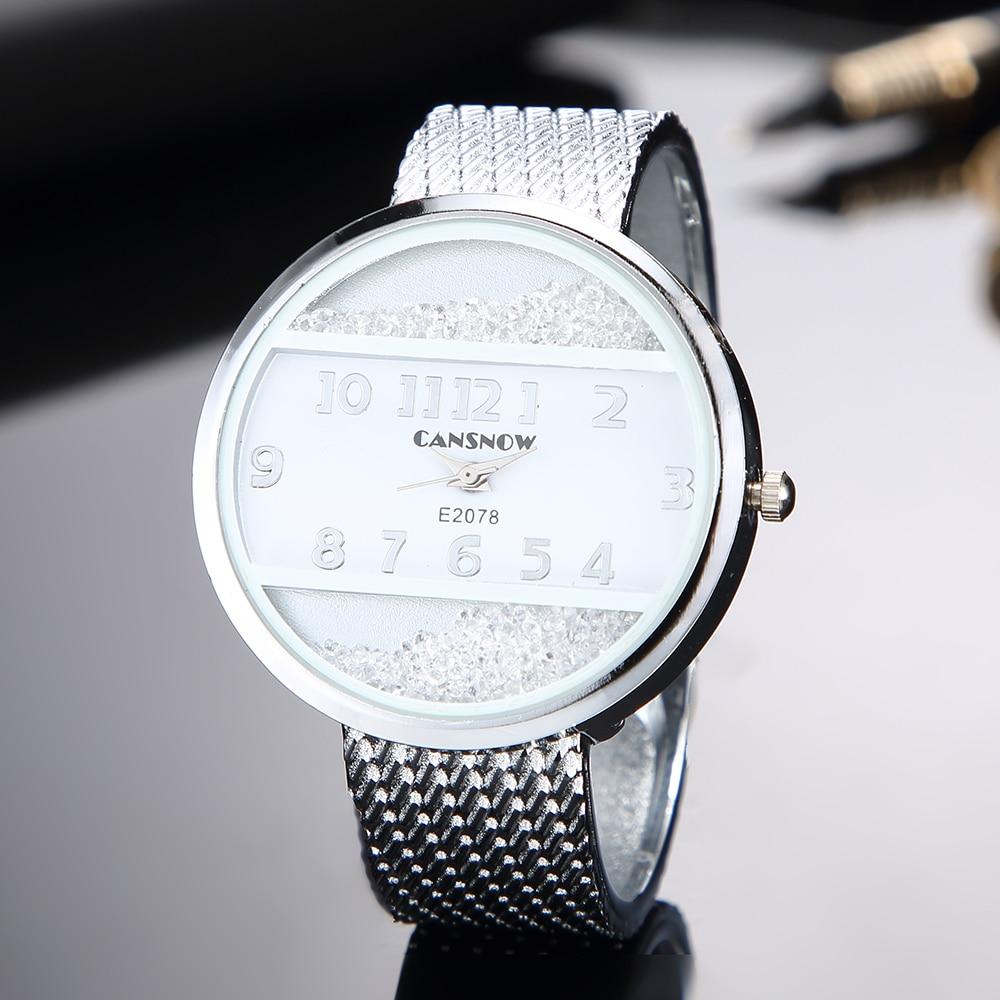 Women Bracelet Watches 2019 New Fashion Silver Gold Dial Lady Dress Saats Bangle Clock Analog Quartz Clock Hot Montre Femme