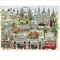 London Town Jigsaw Paper Puzzle With Drawing Guideline and Glue Hot Selling Children Gift 1000 Pieces