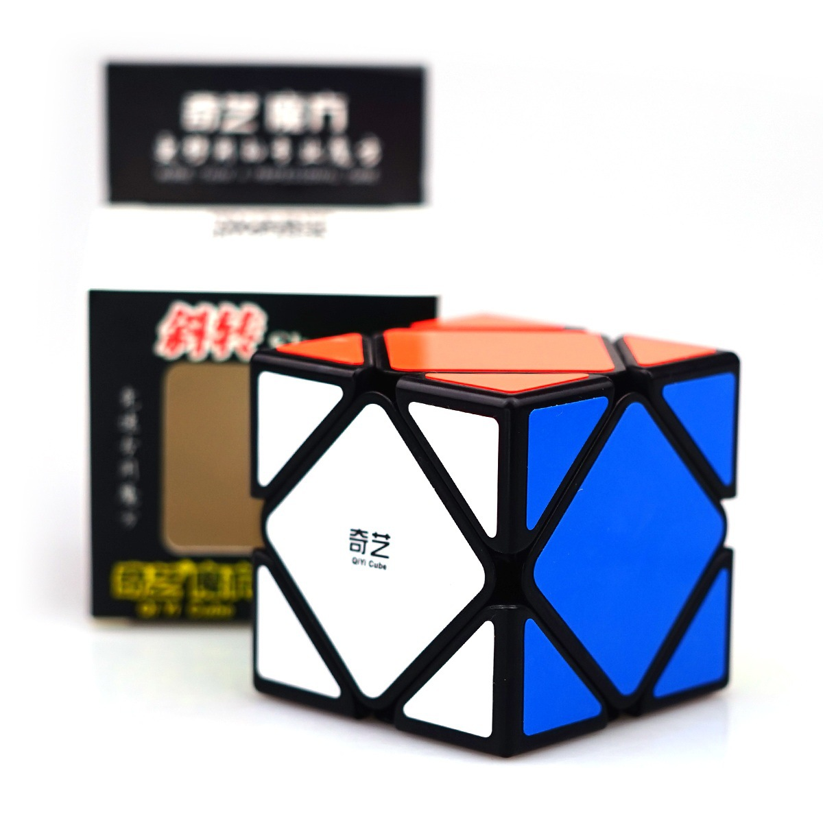 Qiyi QiCheng A Speed Magic Cube Skewed  Speed Cube Magic Bricks Block Brain Teaser New Year Gift Toys For Children