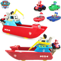 Paw Patrol Toys Ferry Yacht Toys Marine Rescue Vessel Patrulla Canina Anime Figure Model Toys for Children Birthday Gift 2D09
