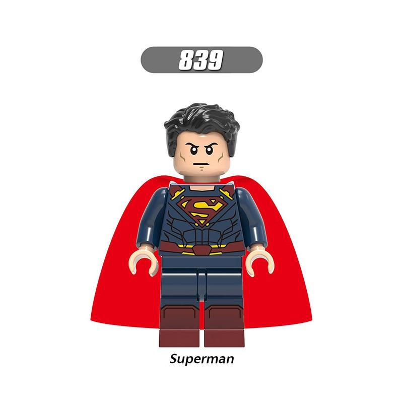Single Sale LegoINGlys Super Heroes  Building Block Superman Wonder Woman Sea King Figures Model Toys Children Girls Gifts X0189