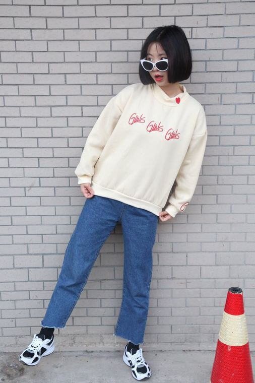 HTB1dCstOpXXXXb2XFXXq6xXFXXXr - Girl Girl Girl Embroidered Letter Red Heart Fashion Sweatshirts PTC 122
