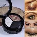 Eyehsadow maquillaje naked palette 3 colores smoky cosmético set profesional natural de sombra de ojos mate paleta maquillaje glitter